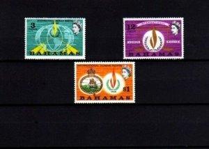 BAHAMAS - 1968 - QE II - HUMAN RIGHTS - FLAME - GLOBE - JUSTICE - MINT MNH SET!
