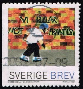 Sweden #2422a Rollerblader; Used (1.50)