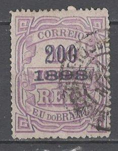 COLLECTION LOT # 4556 BRAZIL #137 1898 CV+$17