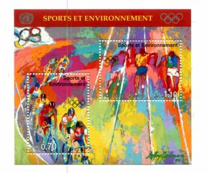 United Nations Geneva Scott #291 Sport And The Environment MNH.