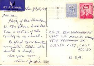 Belgium, Airmail