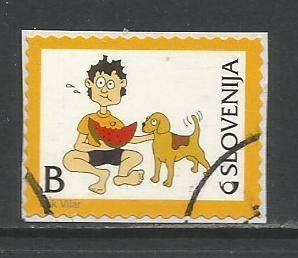 Slovenia   #972  used on piece (2013)  c.v. $0.80