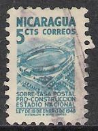 Nicaragua #RA60 Postal Tax Used