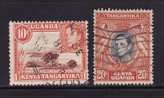 Kenya, Uganda, Tanzania 69, 74 U King George VI (A)