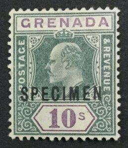 MOMEN: GRENADA SG #66s 1902 SPECIMEN MINT OG H LOT #191628-716