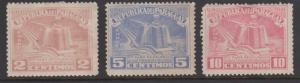 Paraguay Sc#467-469 Mint