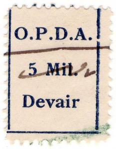 (I.B) Palestine Revenue : Customs Duty 5m (OPDA Devair)