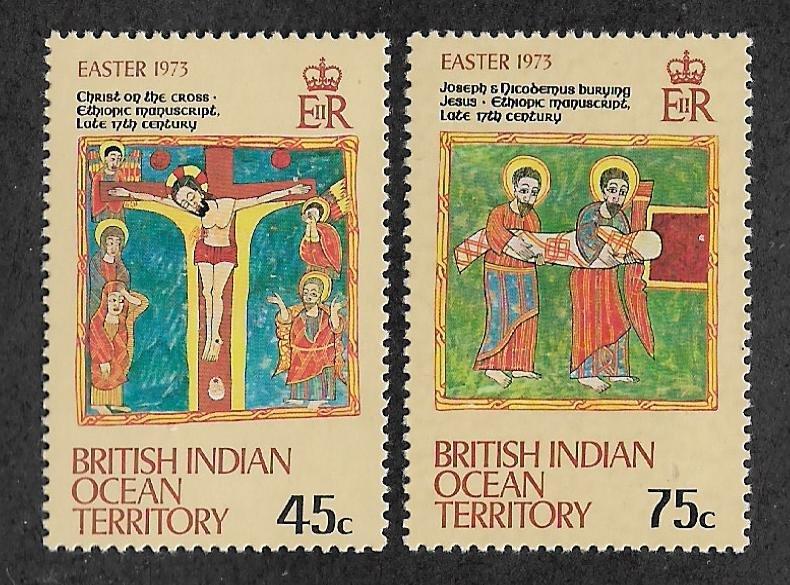 50-51,Mint British Indian Ocean Territory