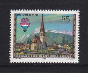 Austria 1435 Set MNH View of Brixlegg