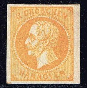 GERMANY STAMP Hannover 1859 -1861 King George REPRINT MH/OG
