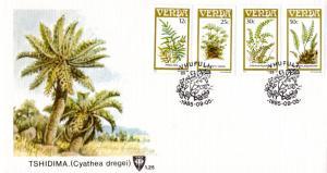 Venda - 1985 Ferns FDC SG 115-118