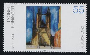 Germany 2184 MNH Art, Halle Market Church