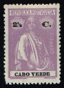 Cape Verde #168 Ceres; Unused No Gum (0.25)