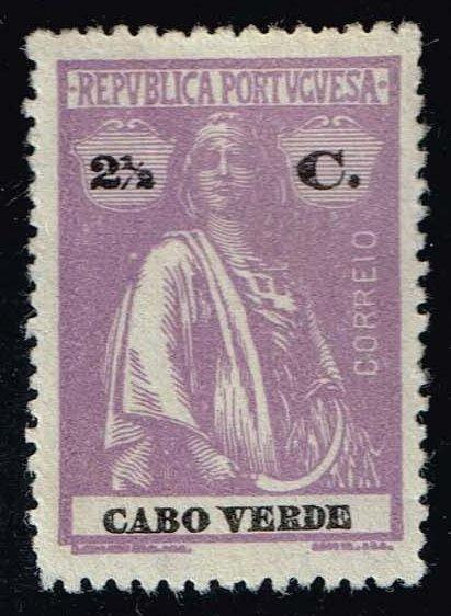 Cape Verde #168 Ceres; Unused No Gum (0.25)