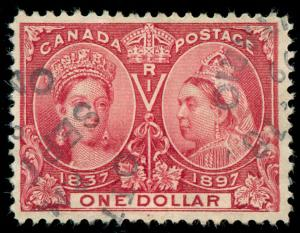 momen: Canada Stamps Jubilee#61 Used VF App.