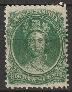 Nova Scotia 1860 Sc 11 MNH**
