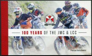 HERRICKSTAMP NEW ISSUES JERSEY Motorcycle & Light Car Club Prestige Booklet