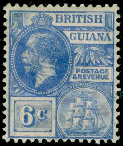 BRITISH GUIANA SG276, 6c brt blue, M MINT.