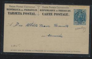 PARAGUAY (P2309B) 3C LION PSC LOCAL USE