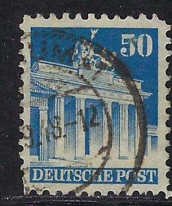 Germany AM Post Scott # 652, used
