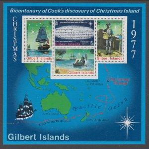 Gilbert Islands 303a Christmas Souvenir Sheet MNH VF