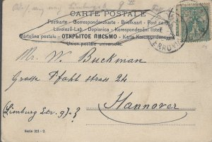 COLLECTION LOT OF #1108 POSTAL CARD ITALY TO GERMANY 100 YEARS OLD 2 SCAN
