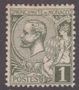 Monaco 11 Hinged 1891 Prince Albert I