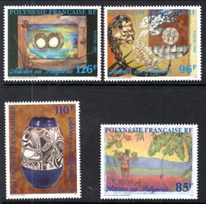 French Polynesia 723-726 MNH VF