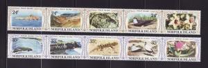 Norfolk Island 288-289 Set MNH Various (A)