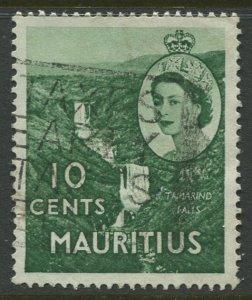 STAMP STATION PERTH Mauritius #255 QEII Definitive Issue FU 1953-1954