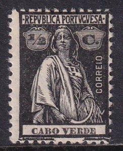 Cape Verde (1914-26) #145 (1) MH