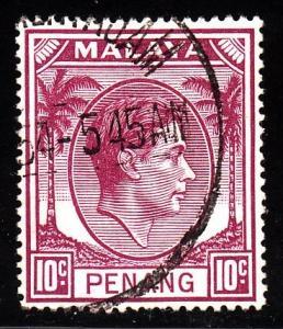 Malaya - Penang 11 - used