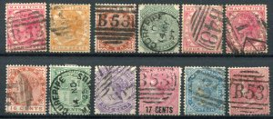 MAURITIUS (24873): OLD STAMP COLLECTION (B48 thinned)
