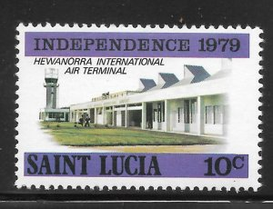 St Lucia Mint Never Hinged [4185]