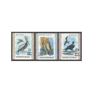 Montserrat 337-339,MNH.Michel 337-339 Pelican,Banana-quit,Frigate.