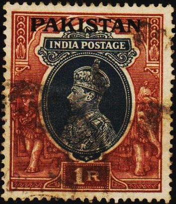 Pakistan. 1947 1r S.G.14 Fine Used