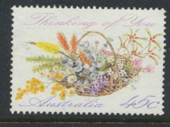 Australia SG 1318  Used - Greetings - Flowers