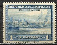 Paraguay; 1944: Sc. # C134: *+/MLH Single Stamp