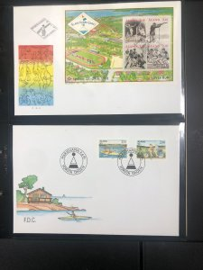 Finland FDC's in Nice Black Case
