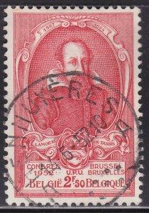Belgium 438 Count Lamoral I / UPU 1952