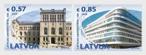 2019 Latvia University of Latvia (2) (Scott NA) MNH