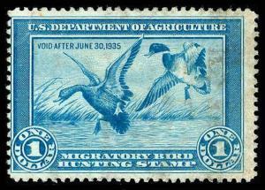 U.S. REV. DUCKS RW1  Used (ID # 83973)