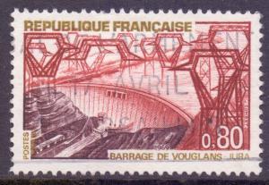 France SG1816 - YT 1583, 1969 Tourism 80c used