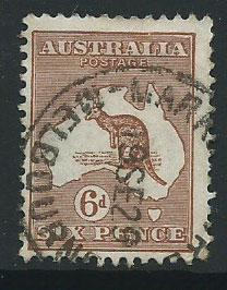 Australia SG 73  Used light crease seen on reverse under ...