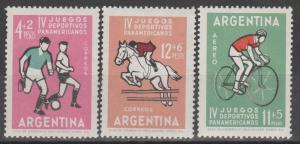 Argentina #B42-3, CB31  MNH F-VF (V857)