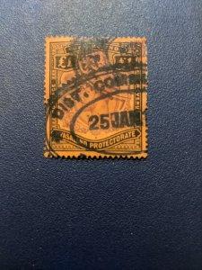 Nyasaland Protectorate 23 VF, CV $170