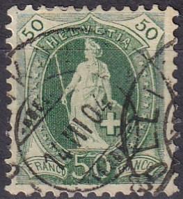 Switzerland #96a F-VF Used CV $8.00 (A18724)