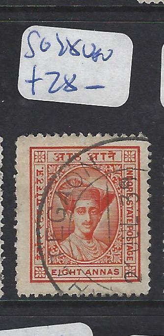 INDIAN NATIVE STATE INDORE   (P3012B)  SG  28   VFU