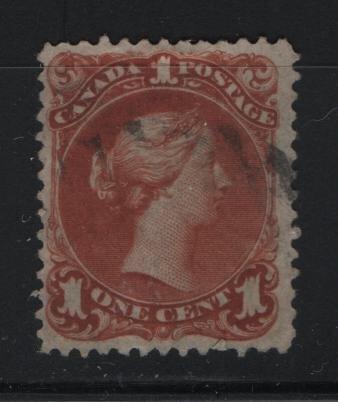Canada, 22, USED, 1870-89 Queen Victoria