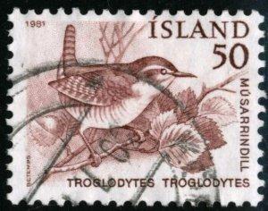ICELAND #543, USED - 1981 - ICE070AFF6